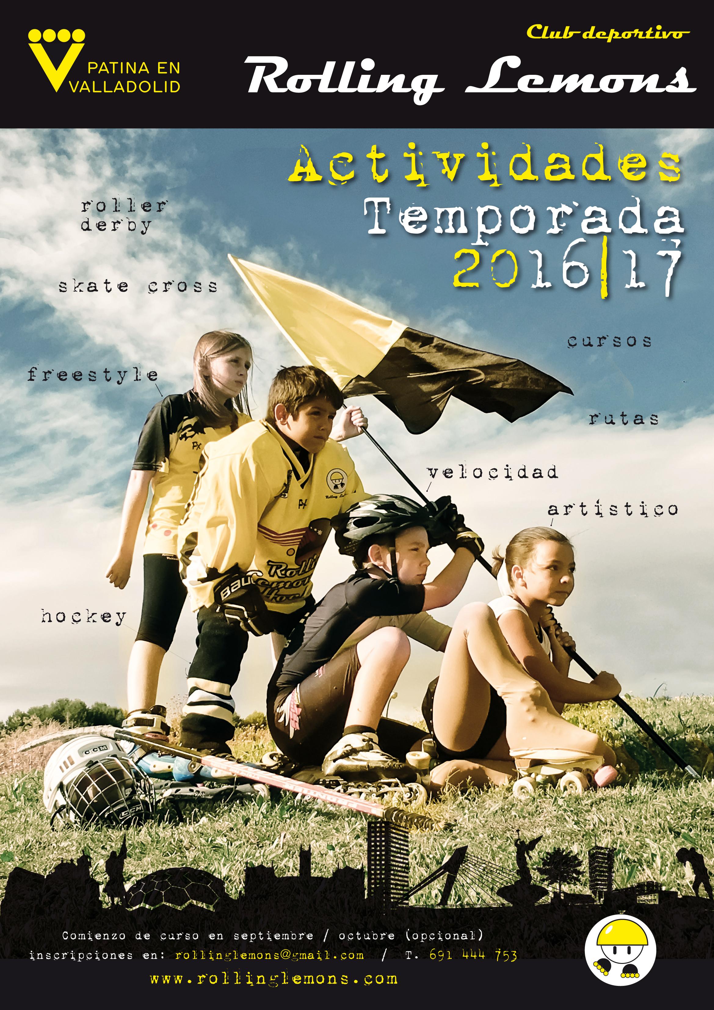 CARTEL ACTIVIDADES 2016-2017