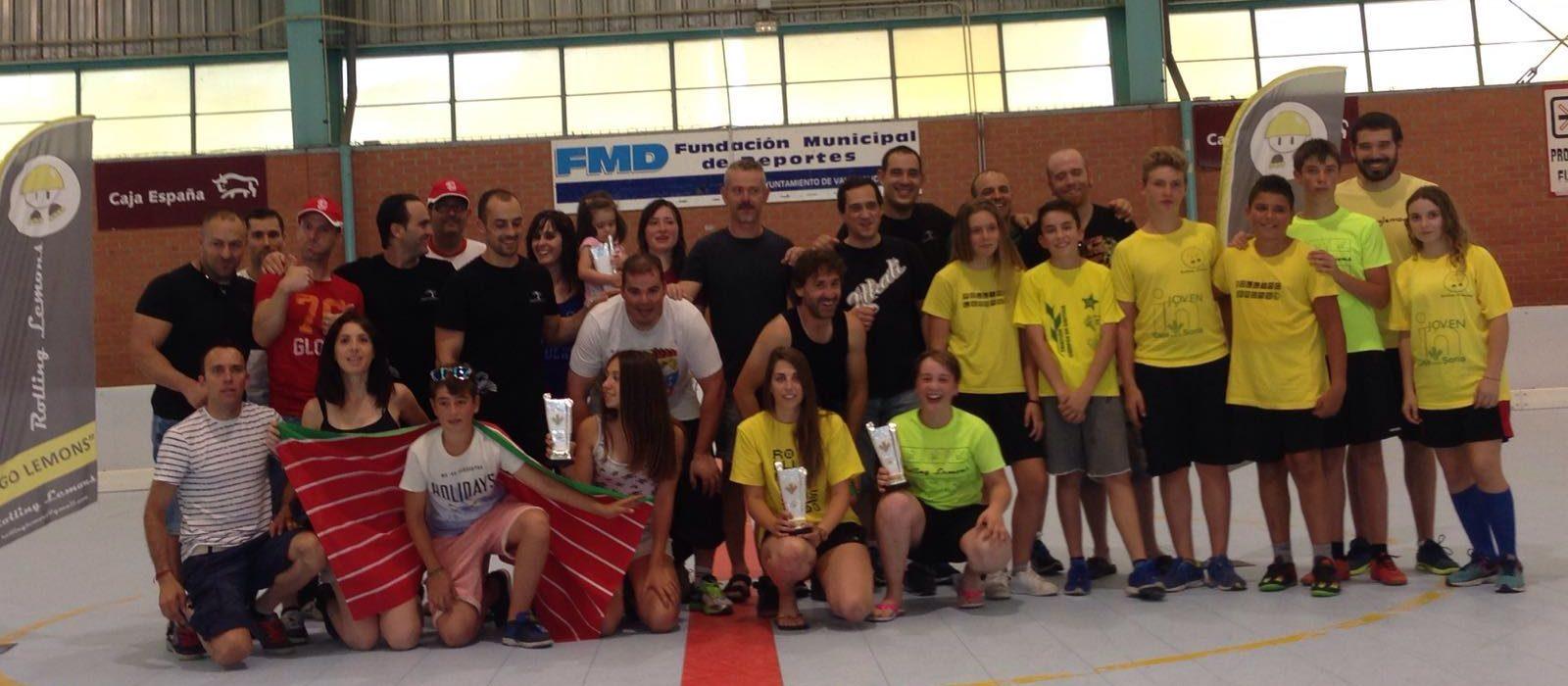 Celt beros gana el torneo de skaterhockey patinar en for Jardines zen valladolid