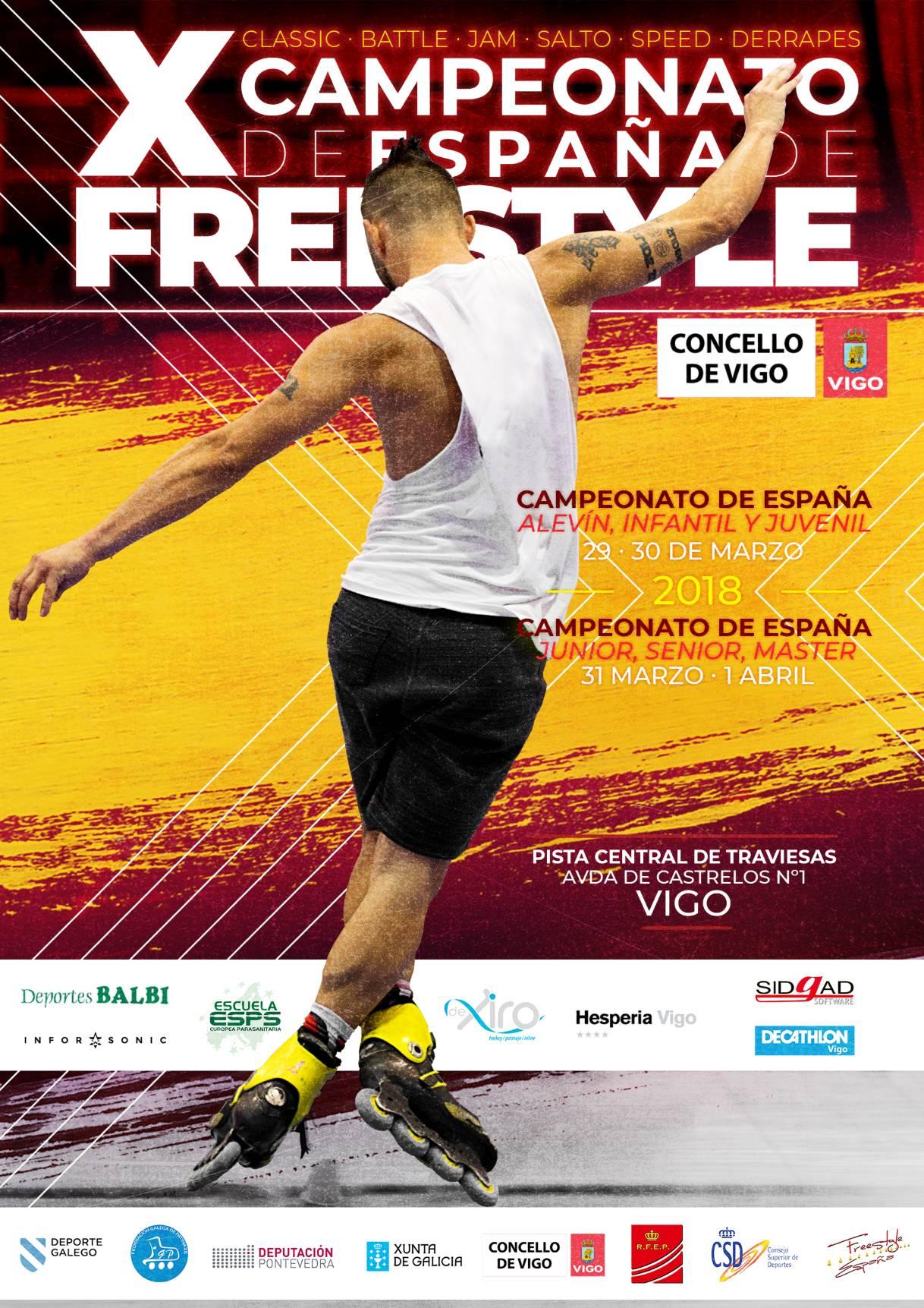 Cto. España Freestyle @ Vigo   Vigo   Galicia   España