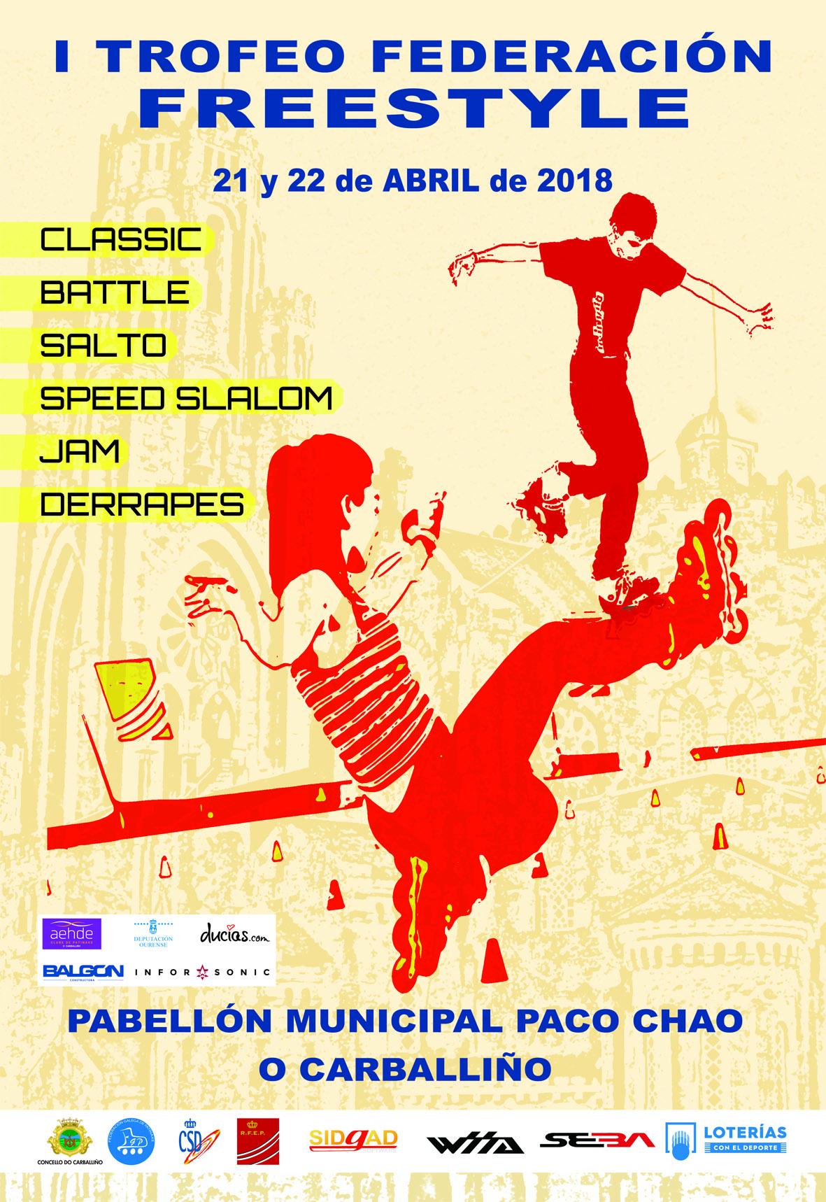 Copa Federación - 2ª Div. Freestyle @ Carballiño | Galicia | España