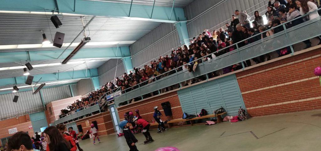 300 PATINADORES EN LA 1ª DE JJEE FMD
