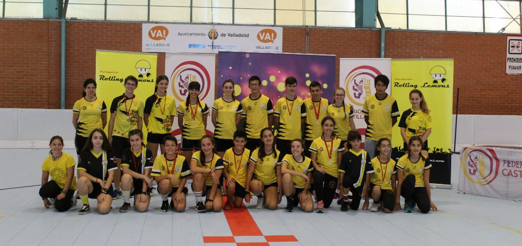 COLOR AMARILLO EN LA COPA CYL 2019
